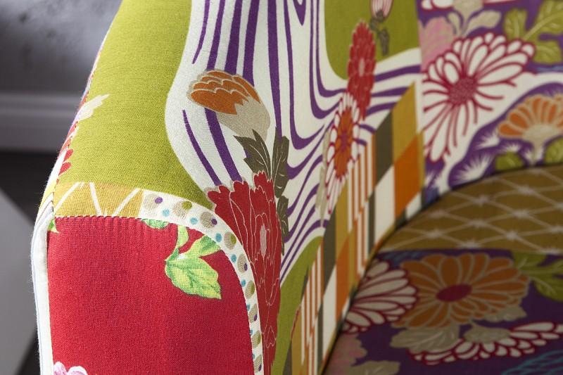 Fotel ibiza patchwork kare design nowoczesne meble kare for Design patchwork stuhl ibiza