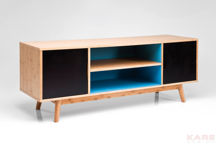 Komoda stolik pod telewizor airy 2 doors kare design for Meuble nouveau concept