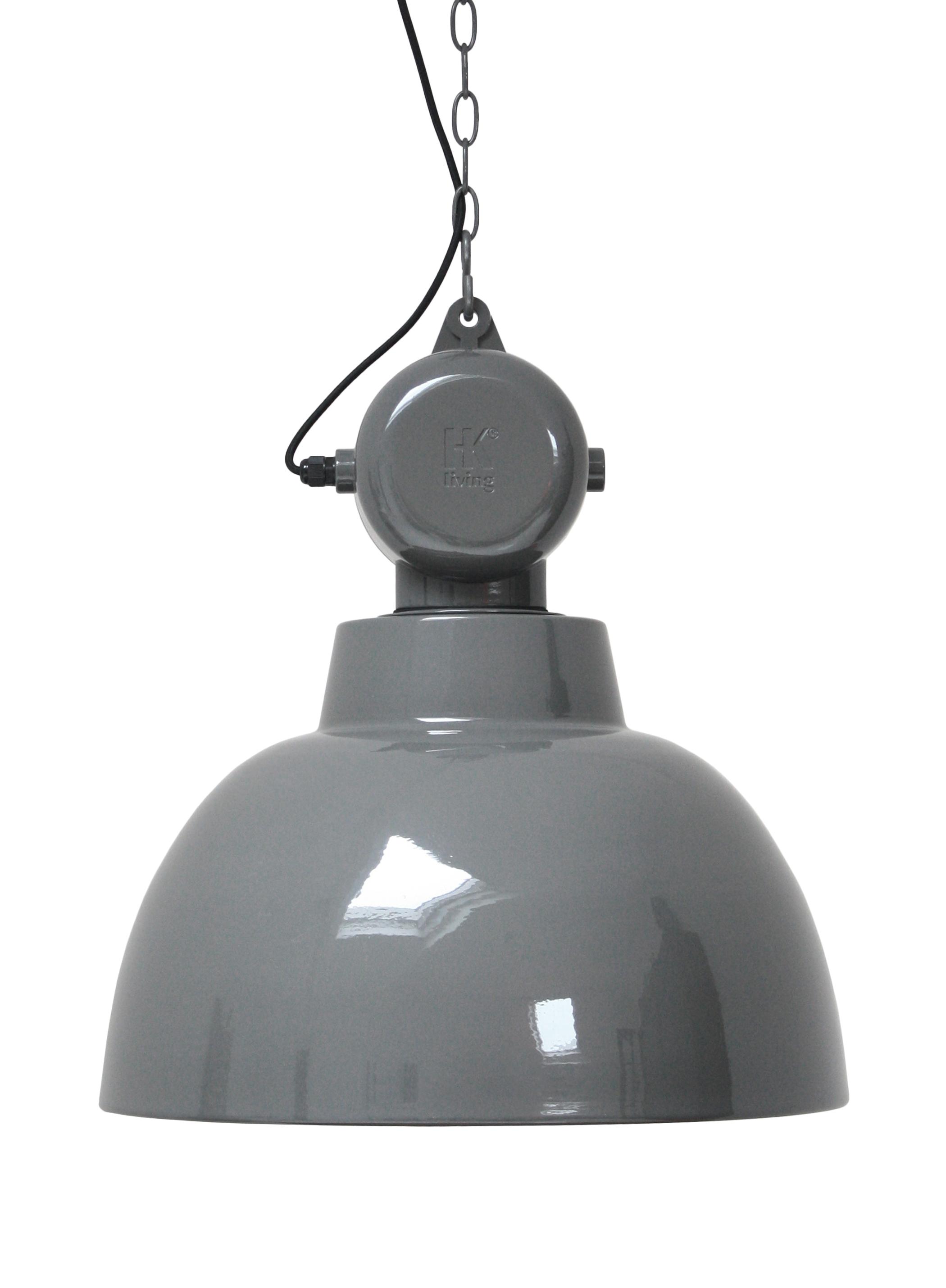 Lampa Factory L - szara