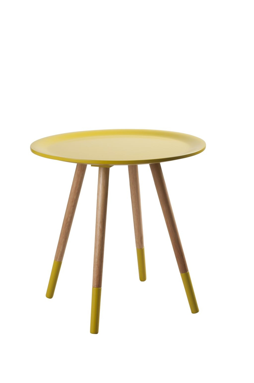 Stolik Two Tone Yellow