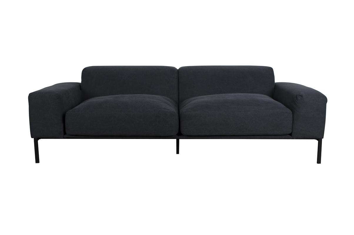 Sofa Additional Vintage ciemnoszara