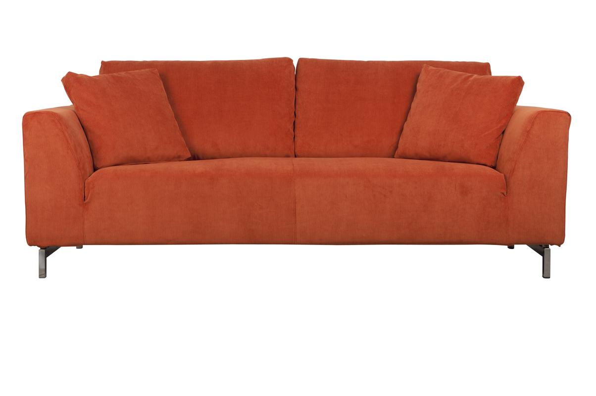 Sofa Dragon Rib Orange