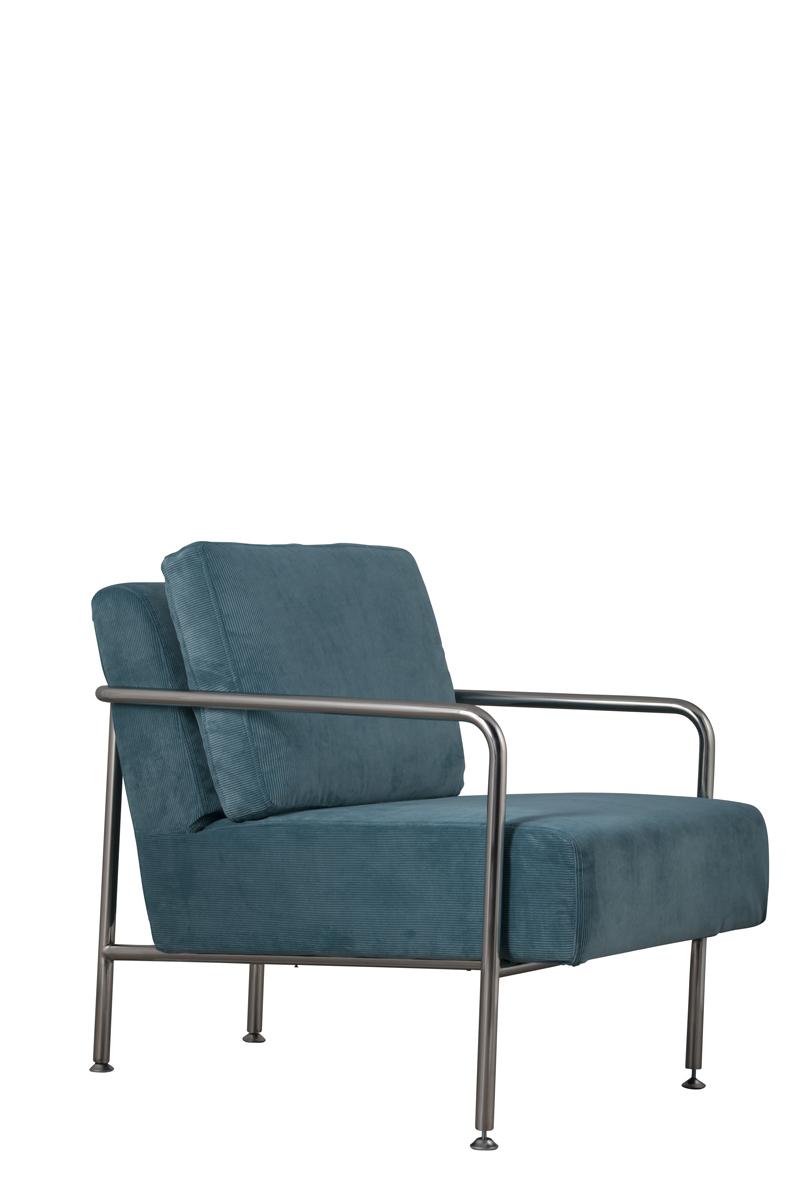 Fotel X-Bang Rib Blue - 3000524