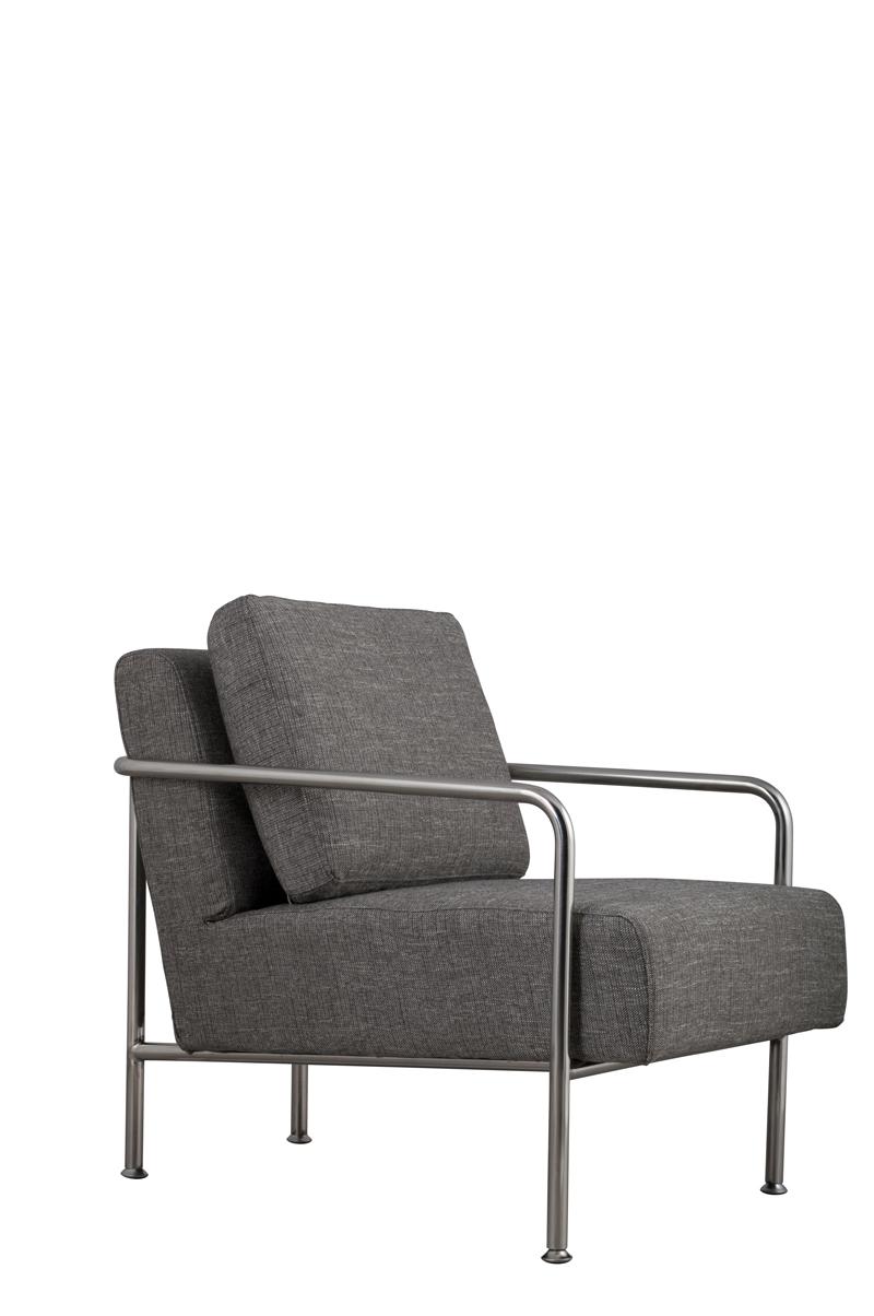 Fotel X-Bang Rib Grey - 3000509