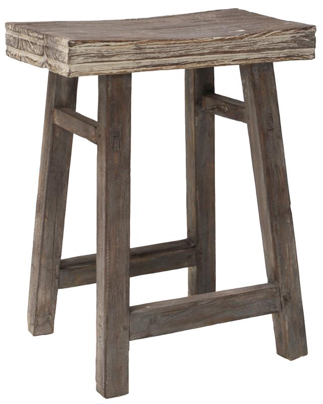 Stołek Z Drewna Tekowego, Recycling