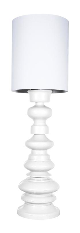 Lampa Podłogowa 'Loft' Biała