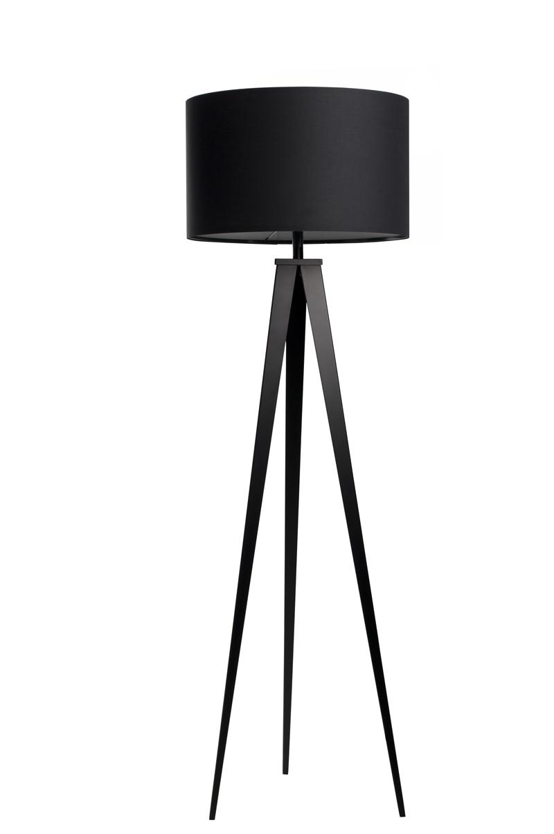 Lampa Podłogowa Tripod czarna