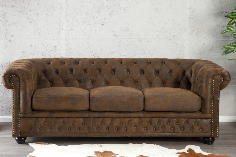 Sofa Chesterfield Antik Look III